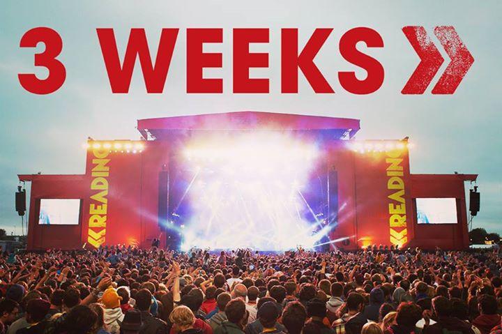 3 WEEKS ️