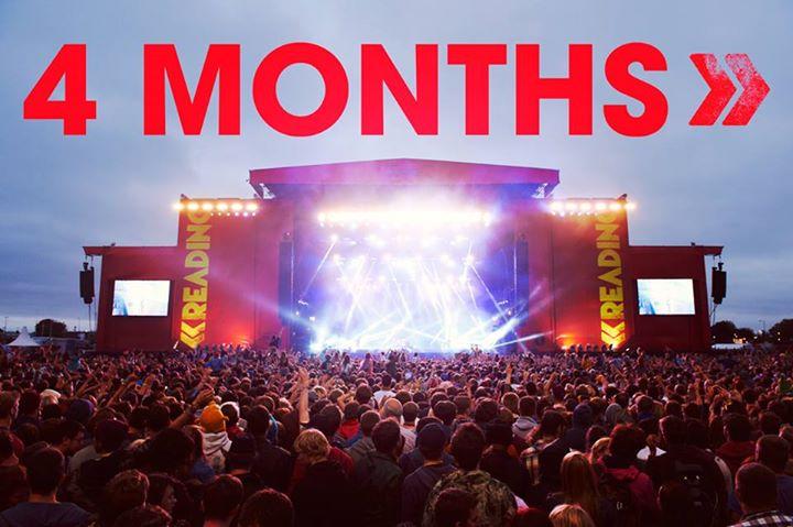 4 months till Reading '16