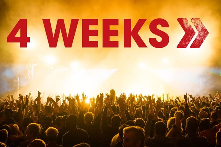 4 WEEKS TO GO…  po.st/R16tr