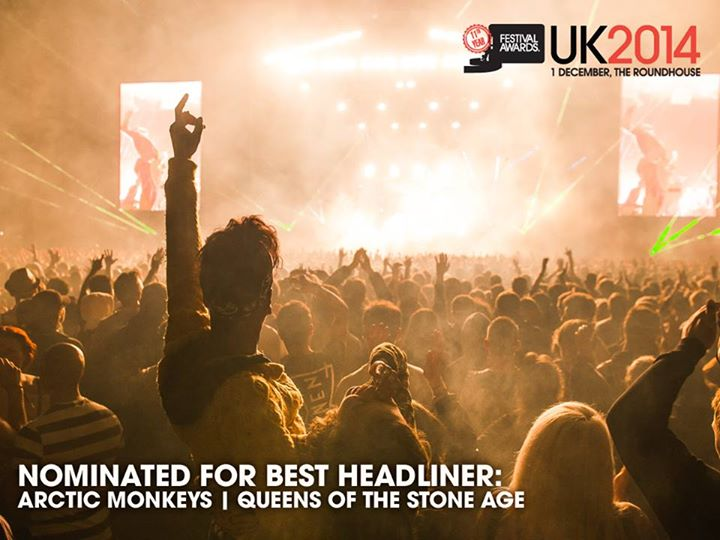 Arctic Monkeys and Queens of the Stone Age have been nominated in the Best Headl…