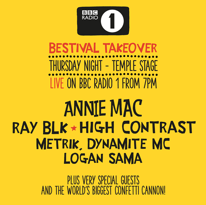 Bestival news: Announcing a huge Thursday night Temple line-up as BBC Radio 1 ends the festival…