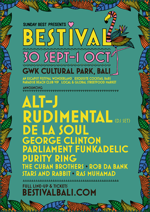 Bestival news: Excited to announce the line-up for our next international adventure… Bestival…