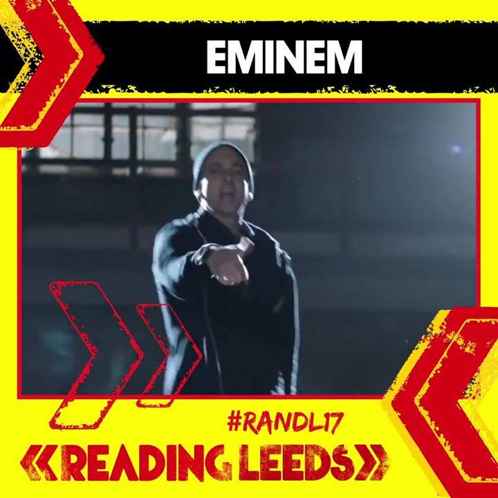 Eminem will be headlining Reading on Saturday