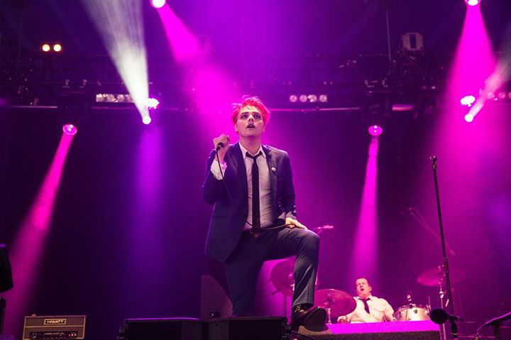 Gerard Way releases his debut album 'Hesitant Alien' today, if you want a sneak …