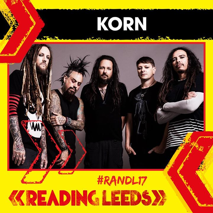 Just announced! Korn will be performing at Reading '17 this summer ️ …