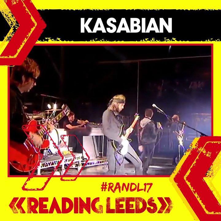 Kasabian will be headlining Reading '17 this summer 🤗️…