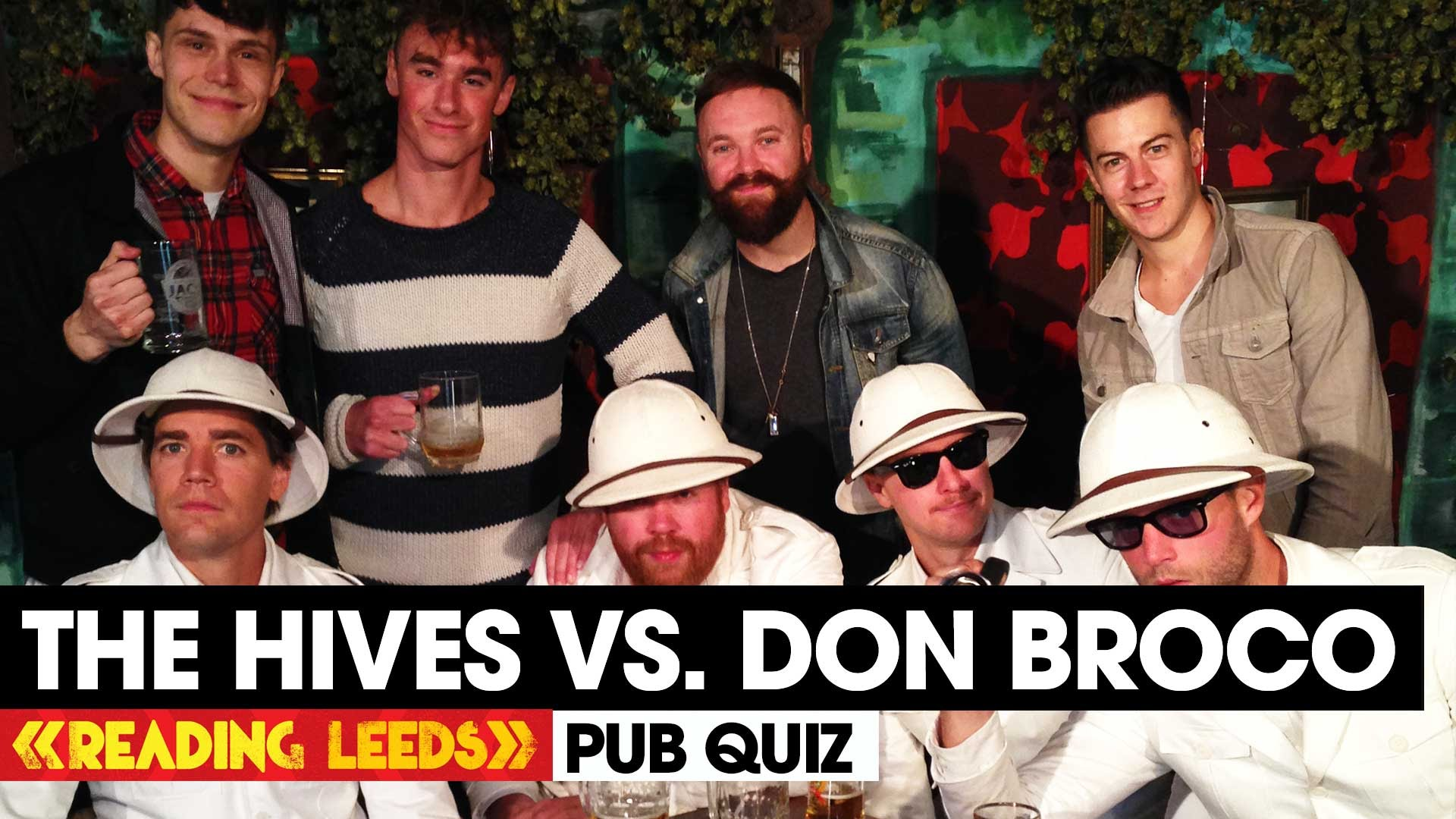 Last weekend the ultimate pub quiz battle took place between DON BROCO and The H…
