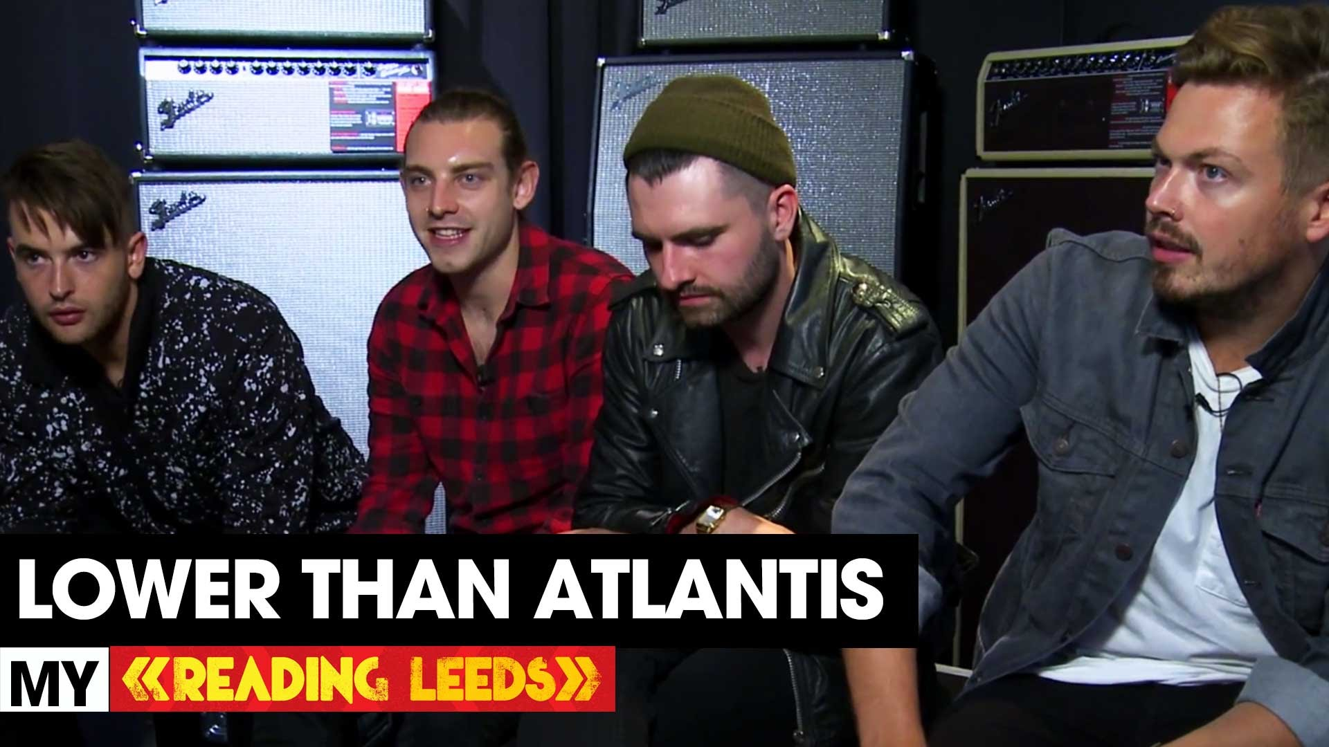 LOWER THAN ATLANTIS tell us why they're excited to be playing at Reading this we…