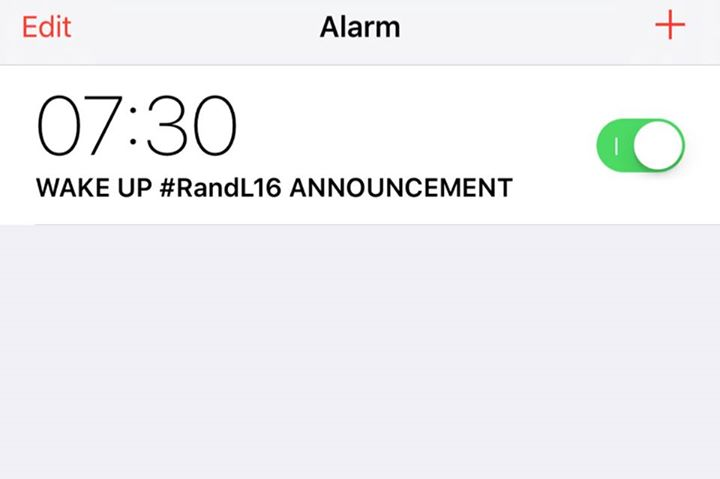 OUR ALARMS HAVE BEEN SET!!! Tune into the BBC Radio 1 Breakfast Show from 7:30am…
