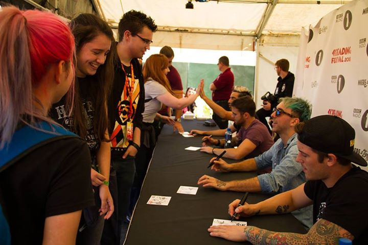 Reading Festival added 12 new photos to the album: BBC Radio 1 Signing Tent 2015…