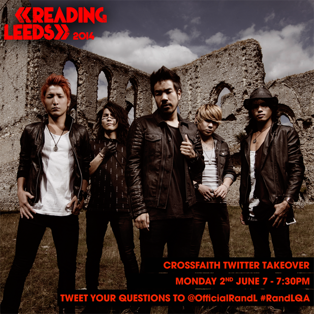 READING FESTIVAL NEWS: Crossfaith will be taking over our Twitter account at 7pm to answer your questio…