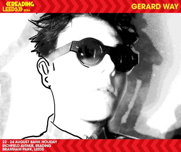 READING FESTIVAL NEWS: Ex- My Chemical Romance front man and previous festival headliner Gerard Way wil…