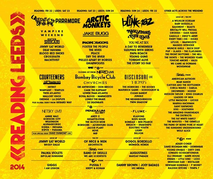 READING FESTIVAL NEWS: Gerard Way (Global Debut Solo Show), Schoolboy Q, We Came As Romans, Maverick Sa…
