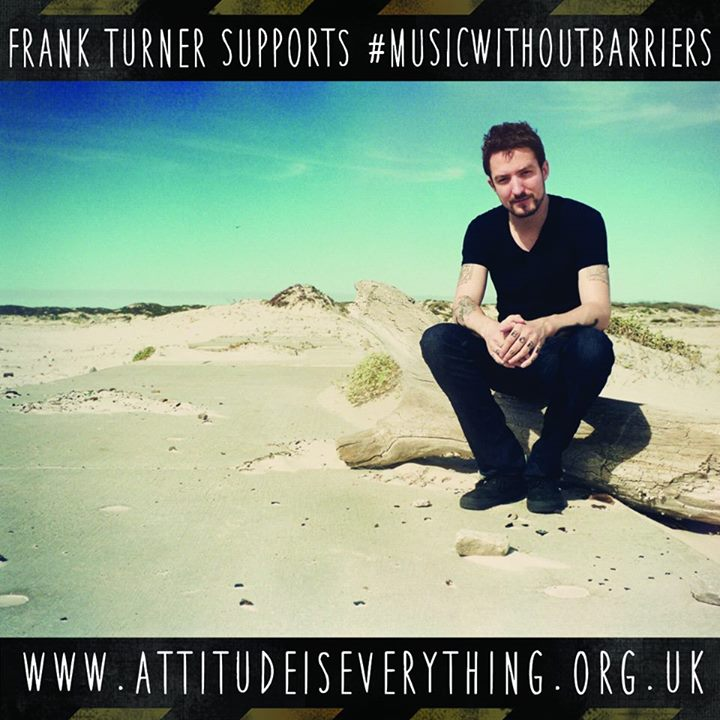 READING FESTIVAL NEWS: Like Frank Turner, we're proud to support  #MusicWithoutBarriers for disabled mu…