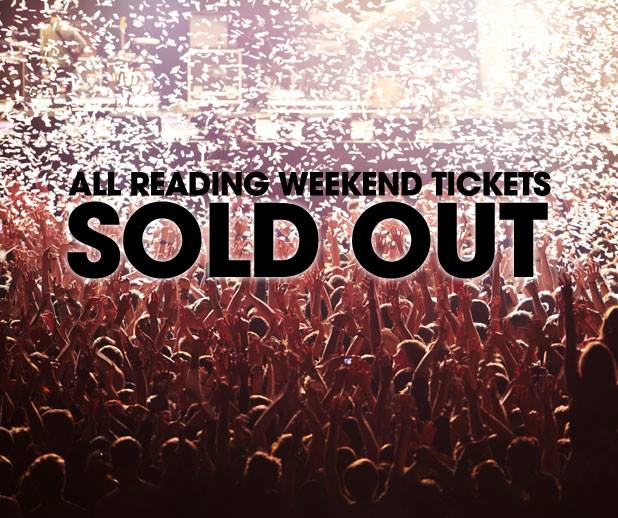 READING FESTIVAL NEWS: Not long to go now. Reading weekend tickets have SOLD OUT. See you down the fron…