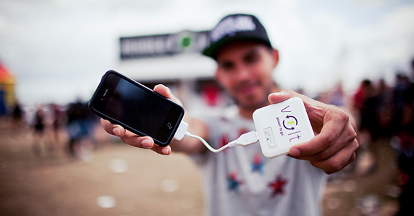 READING FESTIVAL NEWS: Volt – Mobile Charging at Reading Festival