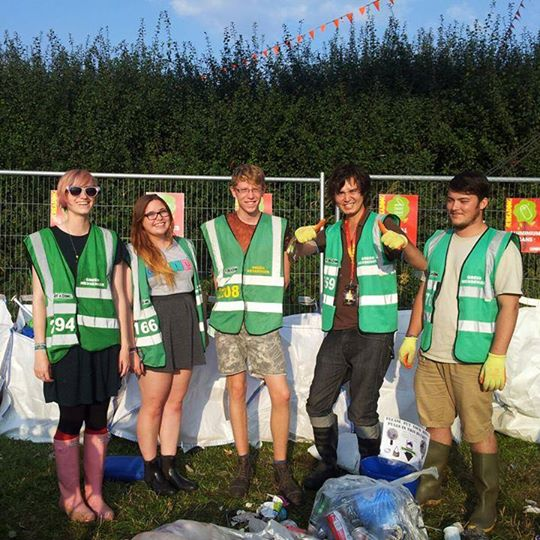 READING FESTIVAL NEWS: Volunteer as a Green Messenger