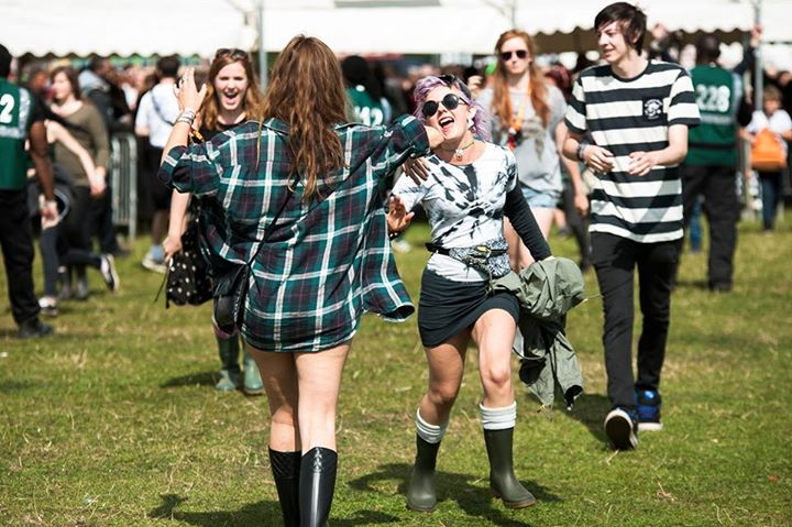 Reading Festival reunion…3 weeks today for early entry pass holders!