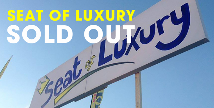 Seat of Luxury upgrades have now SOLD OUT for Reading '16