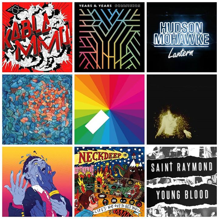 So many new and upcoming album releases to get you prepared for Reading Festival…