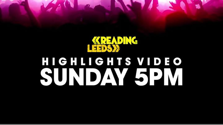 Sunday… 5pm… The Reading '16 highlights video. Here's a teaser ️️️