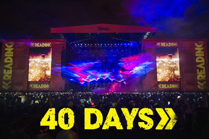 Sunday blues? This should cheer you up…40 DAYS TO GO!