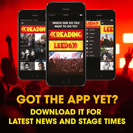 The Reading Festival 2015 app is here! Main Stage and Alternative Stage set time…
