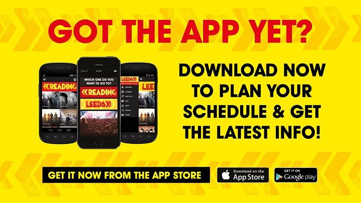 The Reading Festival app has been updated with the latest schedules!…
