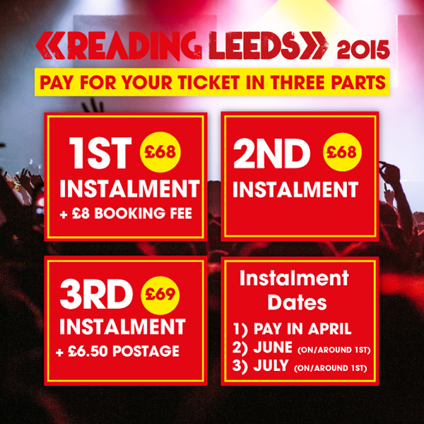 There's just one week left to take advantage of our three part payment plan….