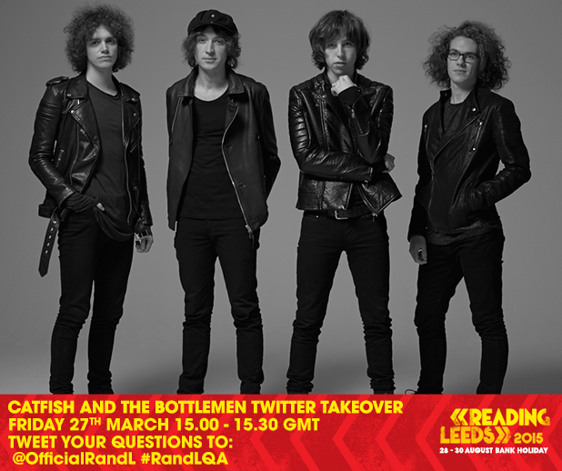 This is scaring us a little but we've decided to let Catfish and the Bottlemen t…