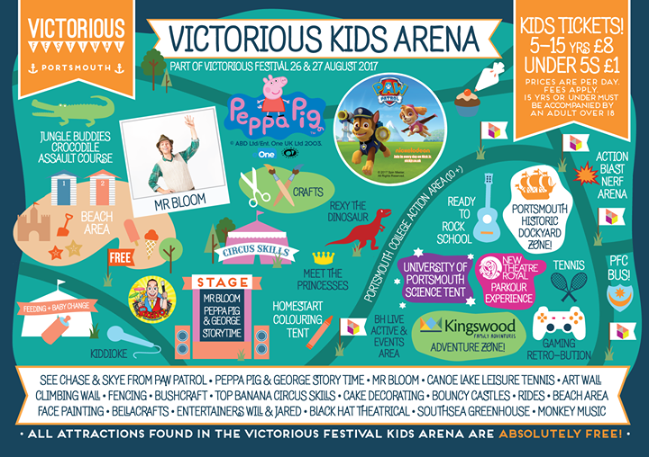 Victorious Festival news: Sunday's are great for spending time with the family and we can't wait to welcom…