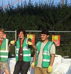 Volunteer as a Green Messenger