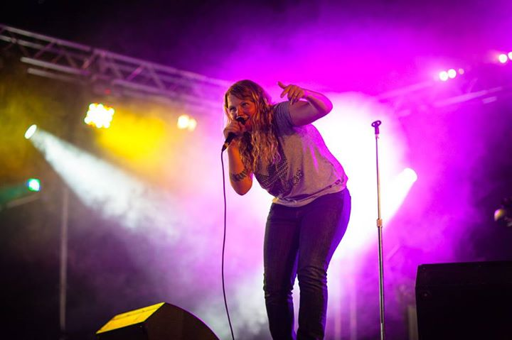 Whilst at Leeds Festival, Mercury Music Prize nominee Kate Tempest performed 'Ha…