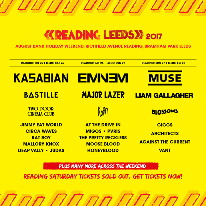 Who will you be seeing at the Main Stage?