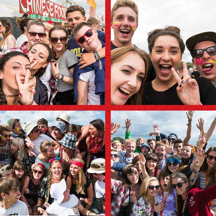 Who's in your Reading Festival family?