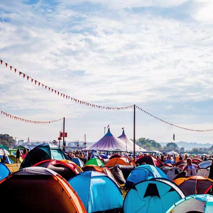 Who's set up camp at  #ReadingFestival? ️