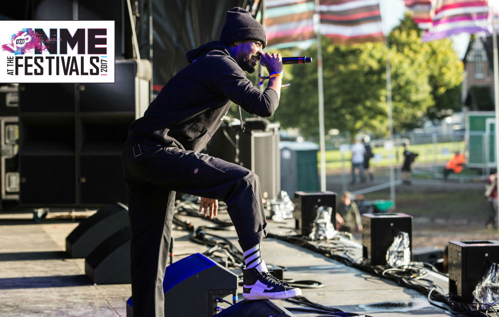NME Festival blog: Danny Brown triumphs with ferocious Bestival main stage set