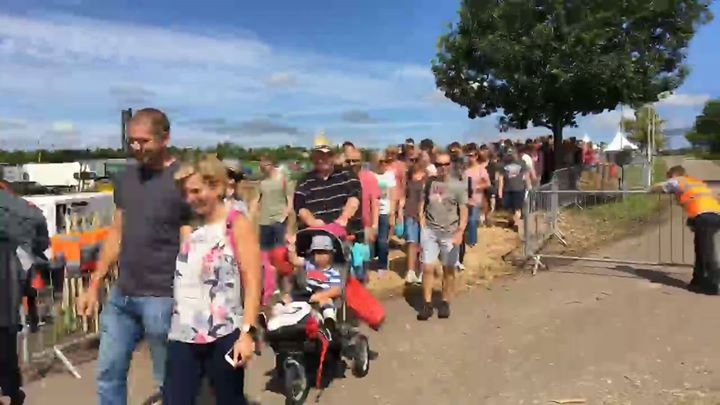 Carfest news: Hello CarFesters! The sun is shining and the gates are open Laverstoke Park Farm…