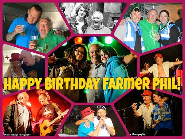 Farmer Phil's festival news: Please join us all in wishing Farmer Phil a very Happy Birthday!!!
