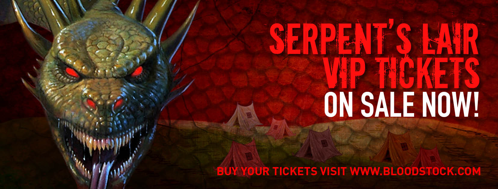 Serpents Lair VIP tickets on sale for BLOODSTOCK 2017