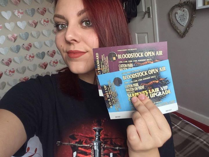 Bloodstock news: #‎BOA17 TICKET SELFIE COMPETITION! …
