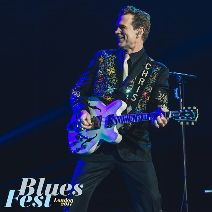 Bluesfest news: Chris Isaak playing a 'Wicked Game' with The