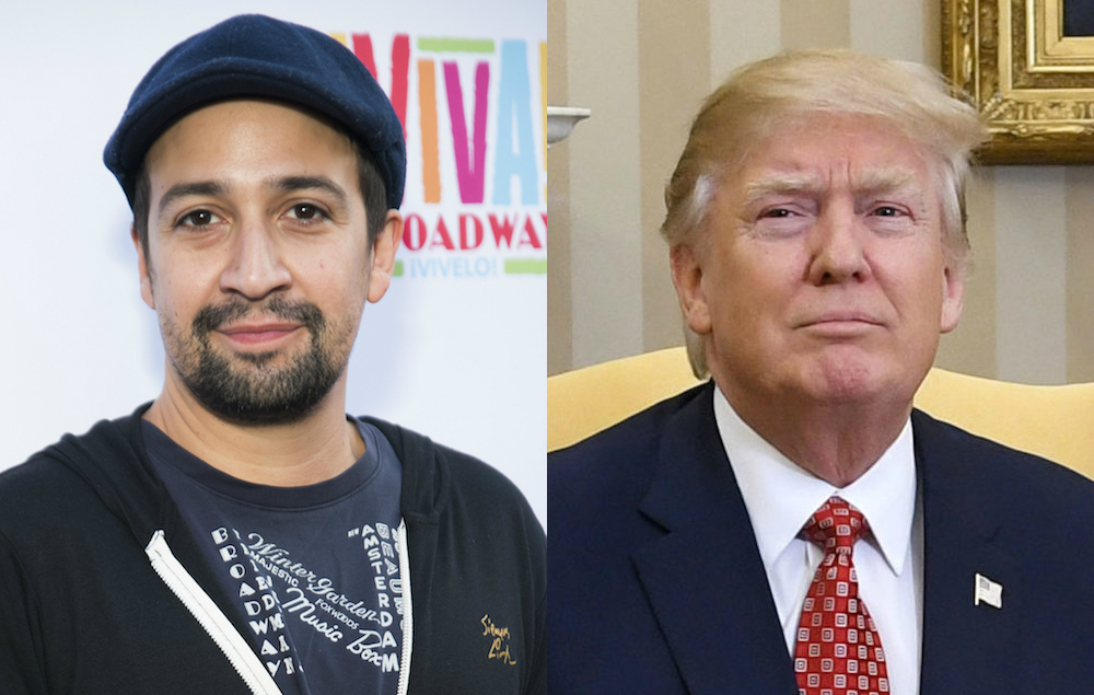 NME Festival blog: Lin-Manuel Miranda says Trump is 'going straight to hell' for comments about Puerto Rico