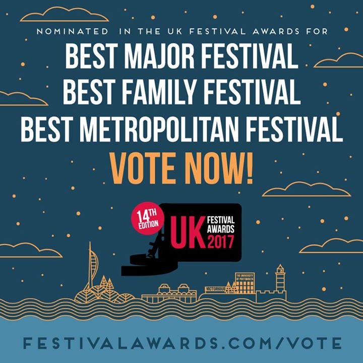 Victorious Festival news: Wow! Exciting news folks! We've been nominated for THREE Festival Awards!…