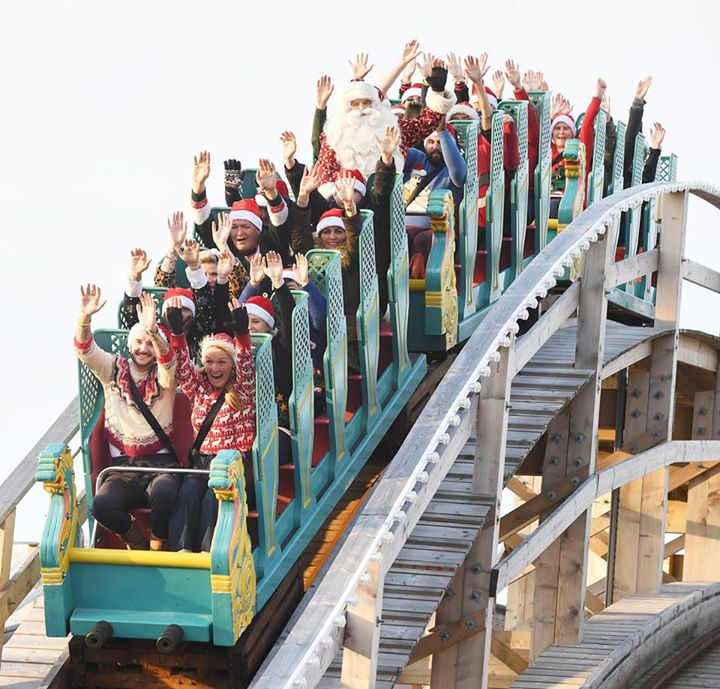 By the Sea news: Father Christmas loves the Scenic Railway!