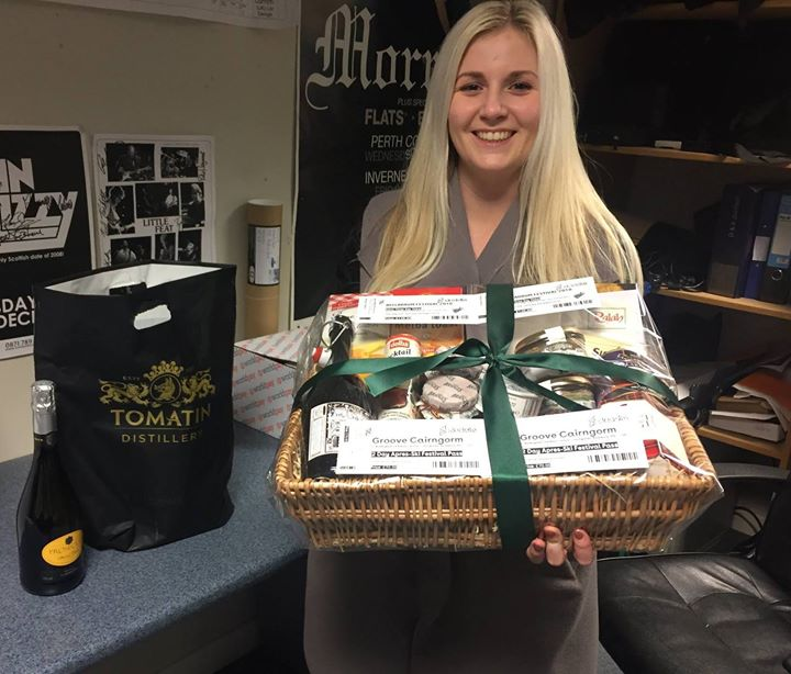 Belladrum Tartan Heart Festival  news: BELLA HAMPER WINNER…