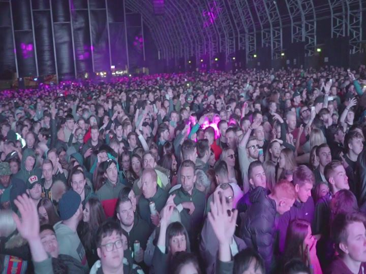 Justin Mylo bringing the party to Creamfields Steel Yard