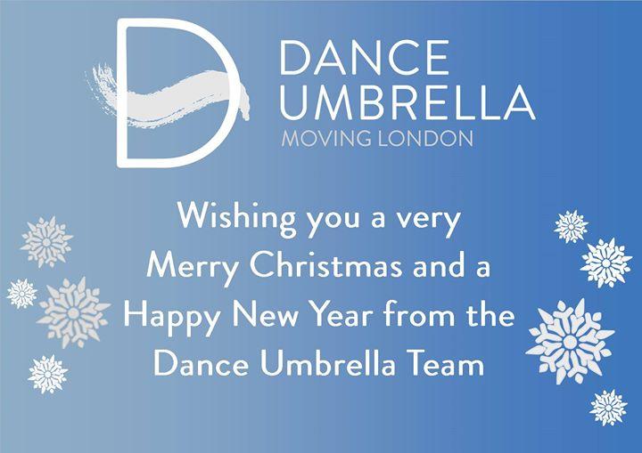 Dance Umbrella news: Happy Christmas!