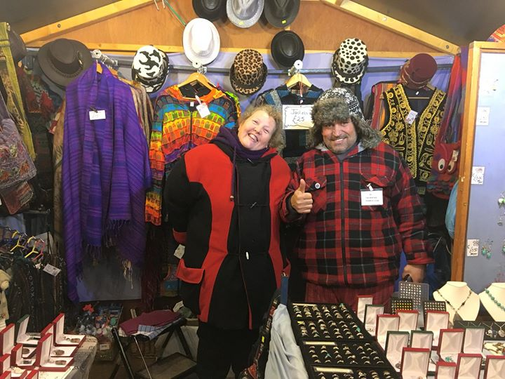 Farmer Phil's Festival news: Wandering around Telford European Christmas Market and who do I spot…our very …