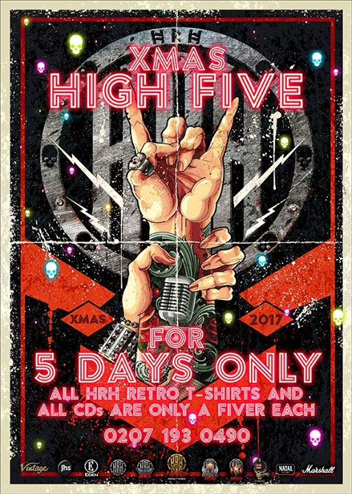 36 hours before the HRH High Five Bell strikes and all the flicky fiver deals ar...